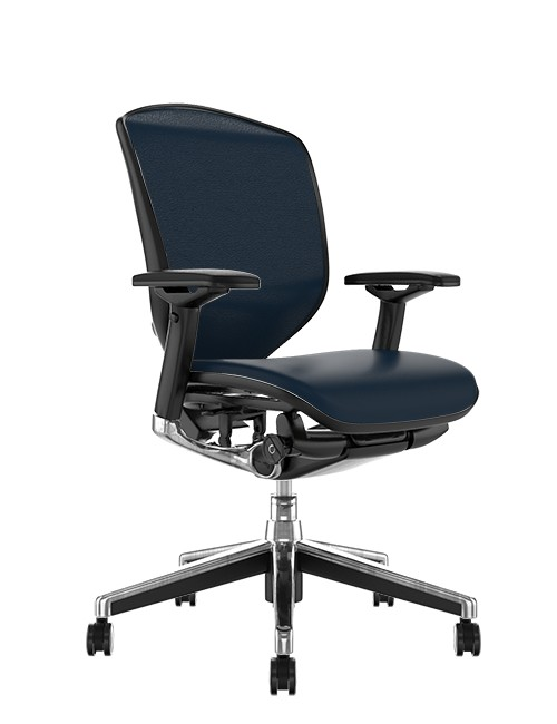 Enjoy Elite Black Leather Office Chair