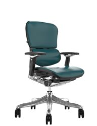 Ergohuman Plus Luxury Teal Leather no Head Rest