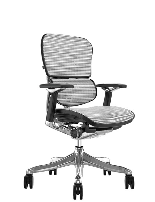 Ergohuman Plus Luxury White Mesh no Head Rest