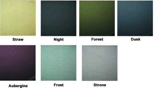 HAG Futu Fabric Colours