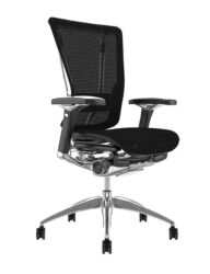 Nefil Black Mesh Office Chair no Head Rest