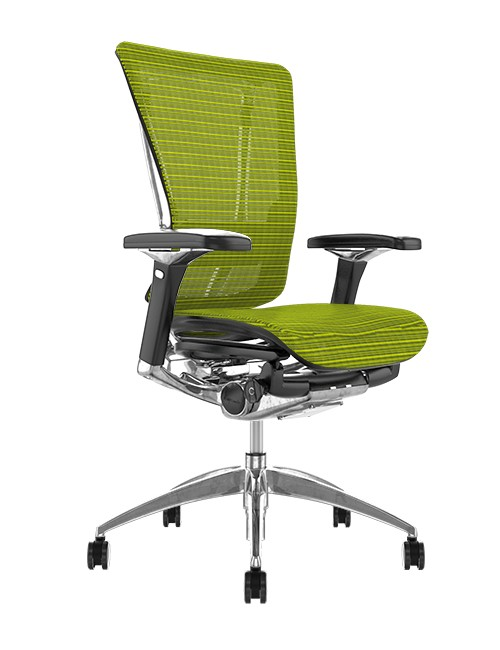 Nefil Green Mesh Office Chair no Head Rest