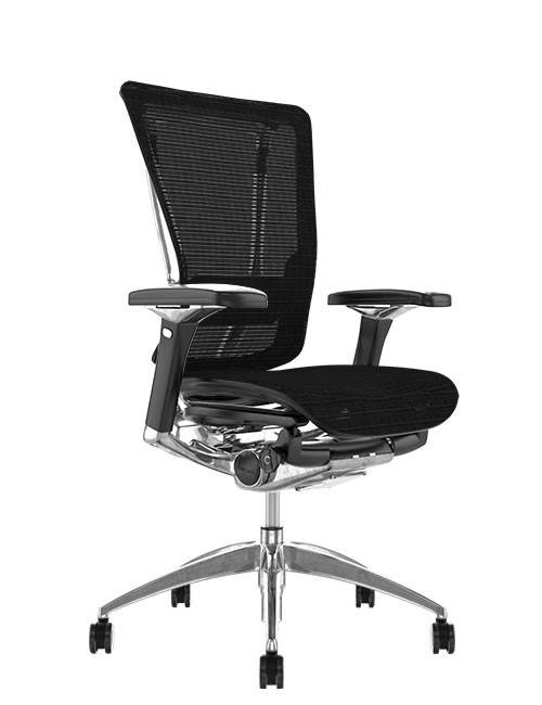 Nefil Mesh Ergonomic Office Chair - Black Mesh