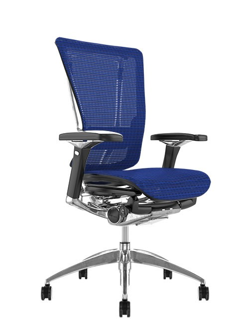 Nefil Ergonomic Office Chair - Blue Mesh