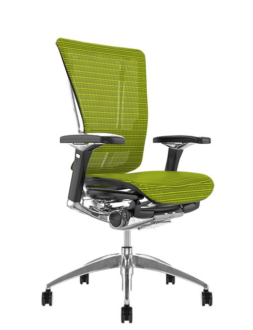 Nefil Mesh Ergonomic Office Chair - Green Mesh