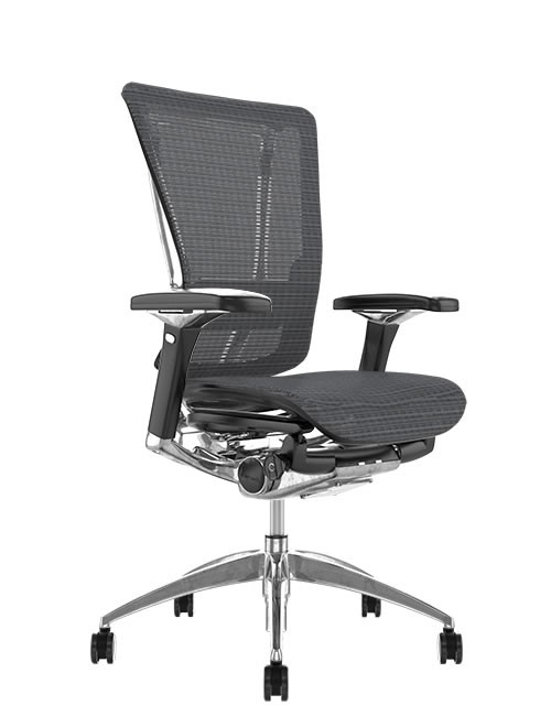Nefil Mesh Ergonomic Office Chair - Grey Mesh