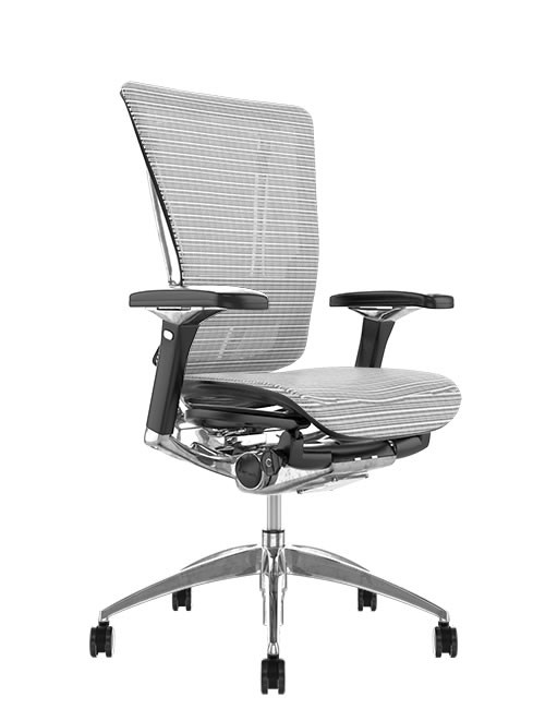 Nefil Mesh Ergonomic Office Chair - White Mesh