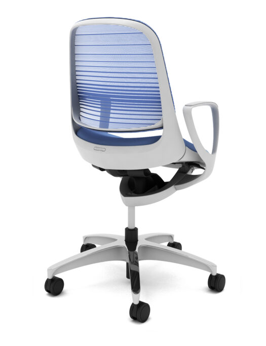 Okamura Luce Mesh Office Chair side