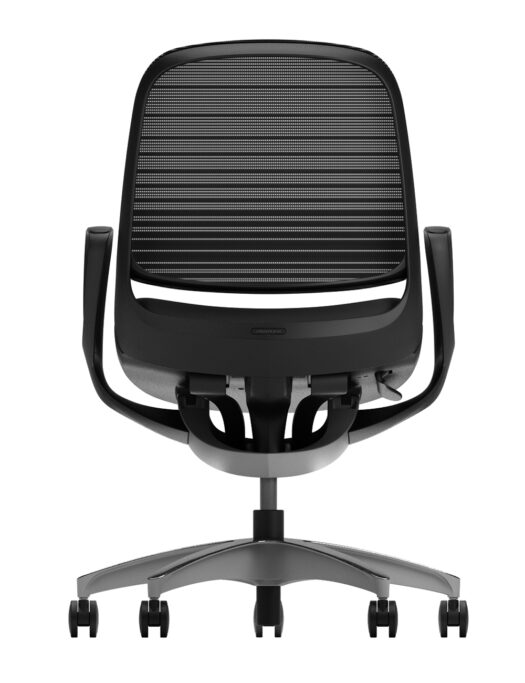 Okamura Luce Mesh Office Chair black back