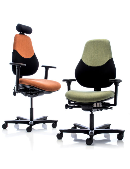 Orangebox Active Ergonomics Flo2 Medium Back Office Chairs