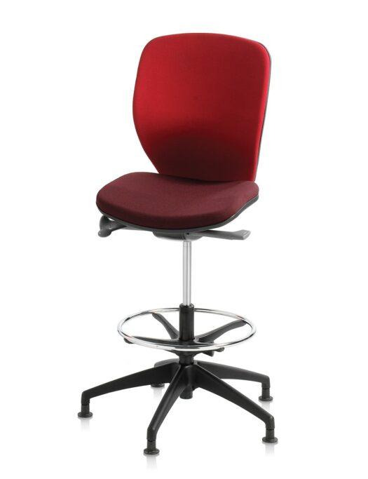 Orangebox Joy Counter Height Office Chair no Arms